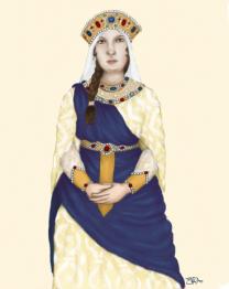 Empress Euphrosyne, 2nd wife of Michael II