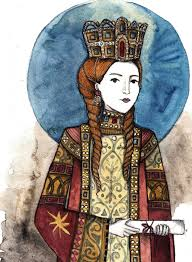 Empress Theodora, daughter of Constantine VII and wife of John I