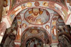 Underground city church art, Cappadocia