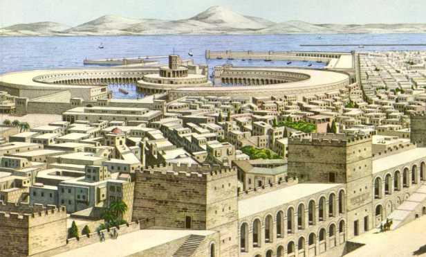 Carthage, capital of Byzantine North Africa