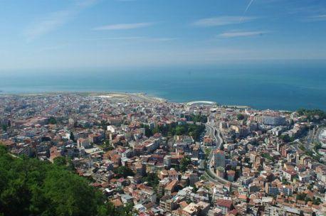 City of Trebizond (Trabzon, Turkey), capital of the Empire of Trebizond