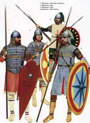 Akritai, Byzantine infantry border guards of the Themes
