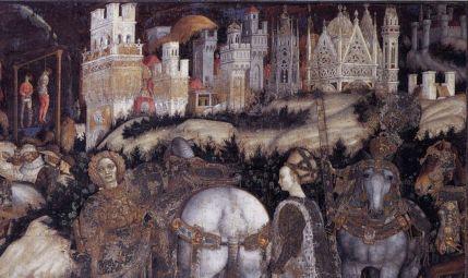 Renaissance panting of Trebizond by Pisanello