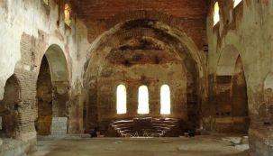 Interiors of Nicaea's Hagia Sophia