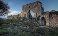 Byzantine ruins in Cherson, Crimea