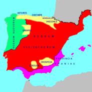 Byzantine Spain (purple)