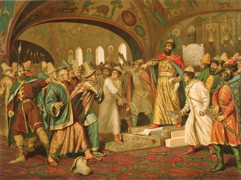 Ivan III the Great refuses to pay tribute to the Mongols