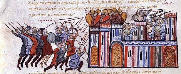 Byzantine siege of Edessa from the Arabs, 1032