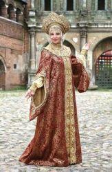 Serbian medieval fashion for noblewomen