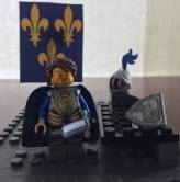 Louis I Count of Blois Lego figure, 4th Crusade leader