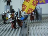 Battle of Adrianople, 1205 in Lego