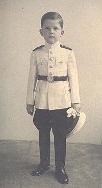 Young Simeon II, Tsar of Bulgaria (1943-1946)