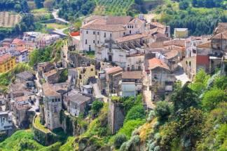 Tursi, former capital of the Theme of Lucania (Basilicata)