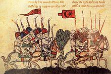 Medieval illustration of the Mamluks