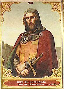 Guy de Lusignan, King of Cyprus (r. 1192-1194)
