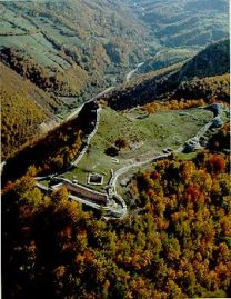 Fortress in the Serbian countryside