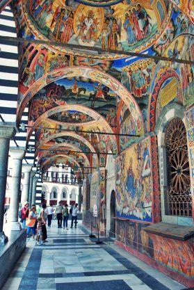 Bulgarian church art, Rila Monastery
