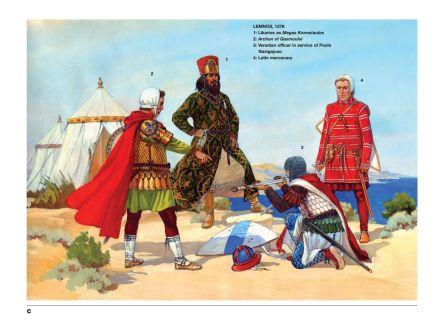 Karabisianoi, Byzantine naval forces