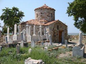 A church in Enez, Turkey (formerly Ainos)