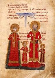 Tsar Ivan Alexander and his family