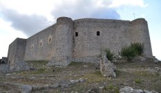 A western style castle, remains of the Frankokratia in Greece