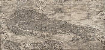 Illustration of Medieval Venice