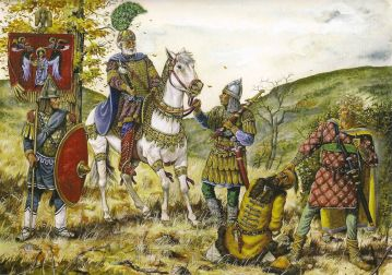 Basil II victorious at Kleidion, 1014