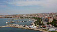 Selymbria along the Marmara north coast (Silivri, Turkey)