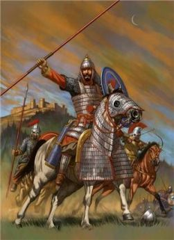 Belisarius leads the Byzantine Army in North Africa against the Vandals