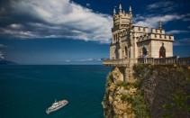 Fortress at Yalta facing the Black Sea
