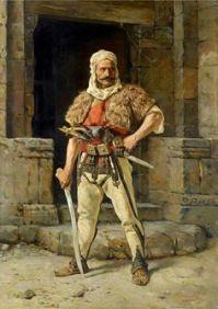 Illyrian (Albanian) tribe warrior