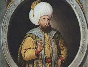 Ottoman Sultan Murad II (r. 1421-1444/ 1446-1451), father of Mehmed II