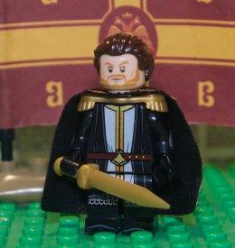 Lego figure of Michael VIII Palaiologos