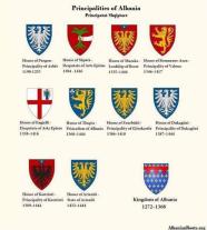 Coat of arms of the Albanian principalities