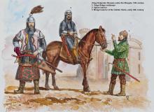 Original Bulgarian horsemen