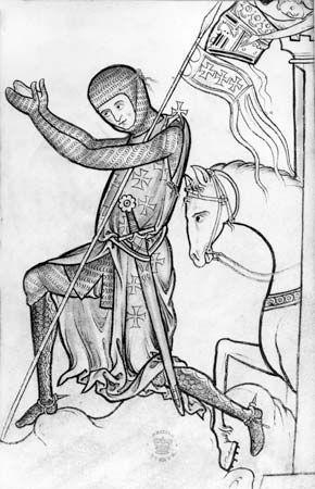 Latin crusader knight