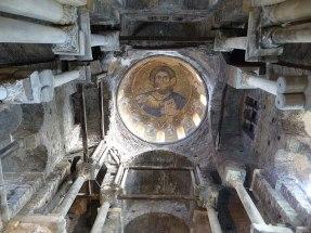 Interiors of the Parigoritissa church
