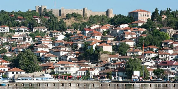 Ohrid, Republic of Macedonia and former Bulgarian capital 997-1018
