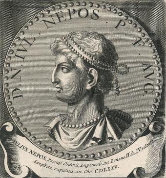 Julius Neops, Western Roman Emperor (r. 474-475), de jure emperor in Dalmatia (475-480)