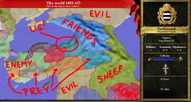 Empire of Trebizond surroundings