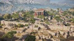 City of Thebes from AC Odyssey, former capital of the Hellas Theme