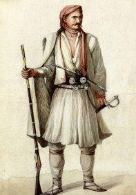 Illyrian Albanian tribesman, people of Epirus