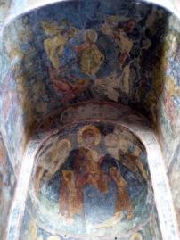 Church frescos in Mystras