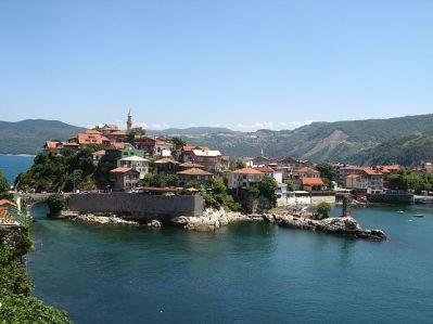 Amasra, Turkey along the Black Sea (formerly Amastris, Paphlagonia)