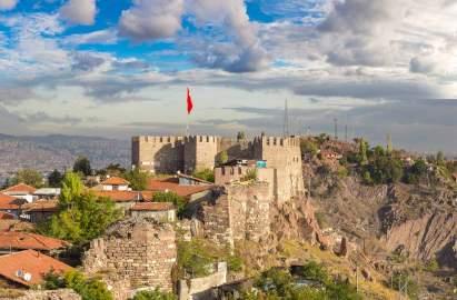 Ankara, formerly Ancyra in the Anatolic Theme