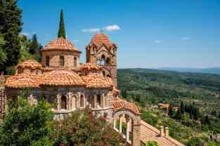 Late Byzantine era monastery in Mystras