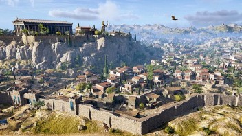 Athens from AC Odyssey