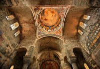 Interiors of the Hagia Sophia