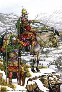 Soldiers in Byzantine Morea, 15th century