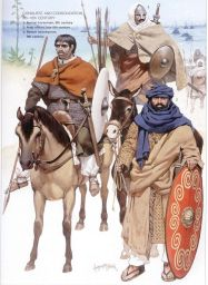 Soldiers of the Umayyad Caliphate, Arabs and Berbers